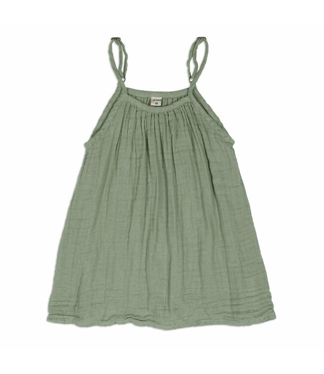 Numero 74 Mia jurk -  sage green