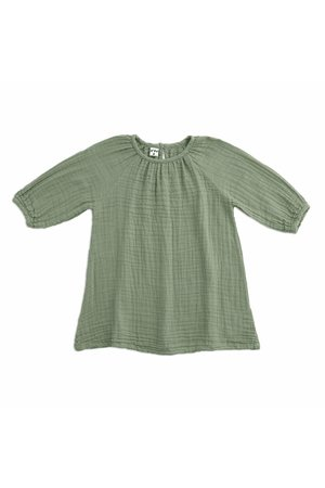 Numero 74 Nina jurk - sage green