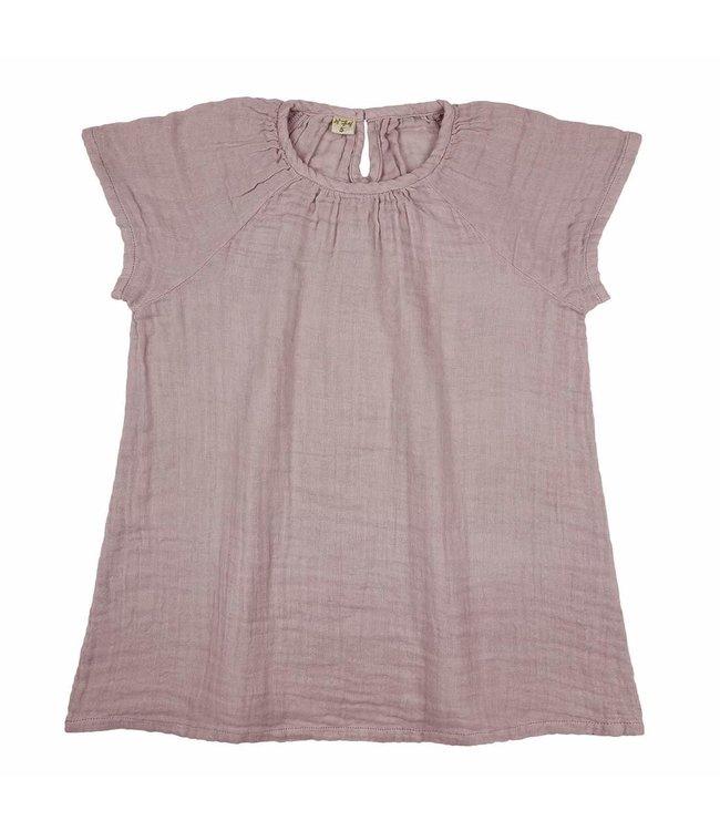 Clara dress - dusty pink