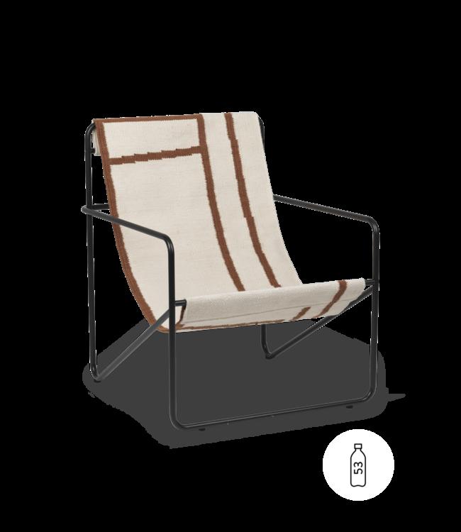 Desert lounge chair - black/shape