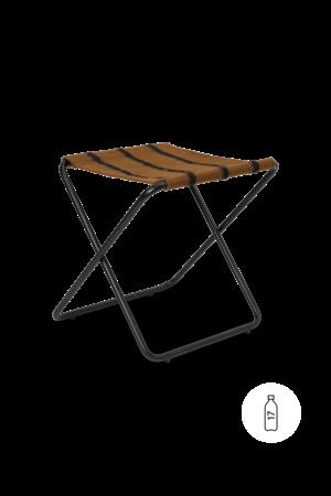 Ferm Living Desert stool - black/stripe