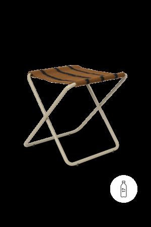 Ferm Living Desert stool - cashmere/stripe