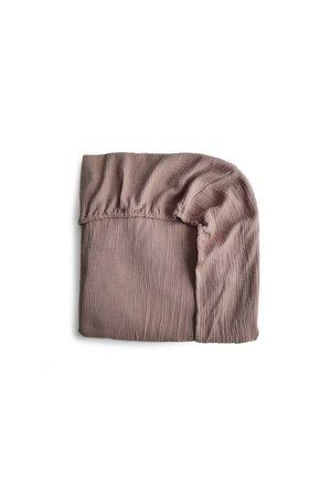 Mushie Crib sheet - natural