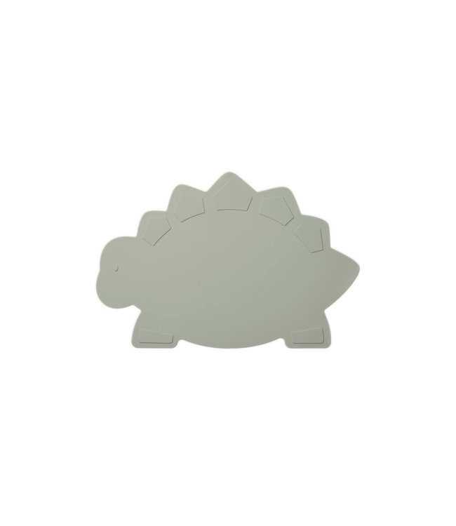 Liewood Tracy placemat - dino dove blue
