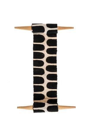 AAAA Bogolan totem - flexibility - wit/zwart