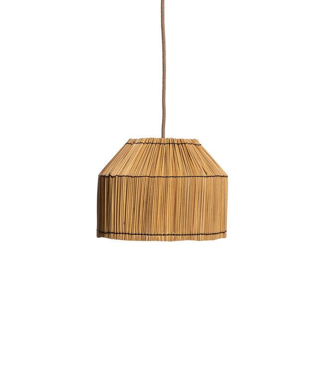 Hanging lamp 'Bona' - reed