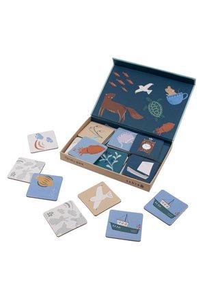 Sebra Memory game in a box, seven seas/daydream