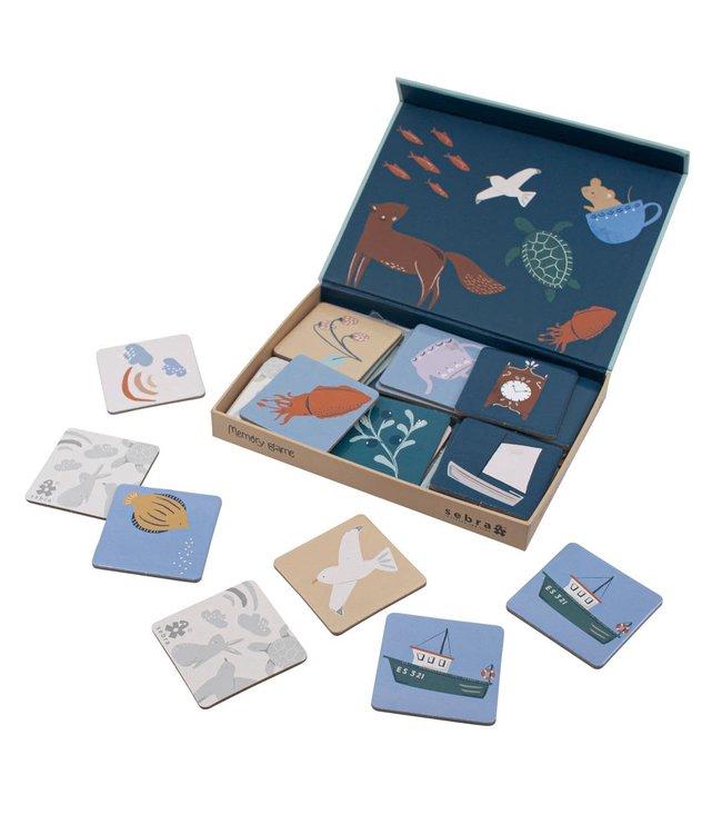Memory game in a box, seven seas/daydream