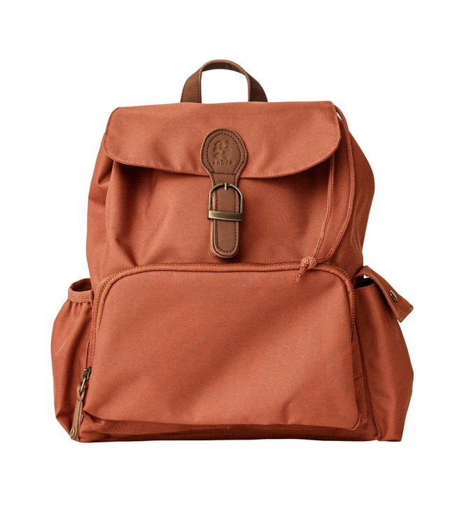Mini backpack, sweet tea brown