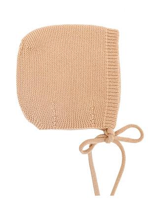 Hvid Bonnet Dolly - apricot