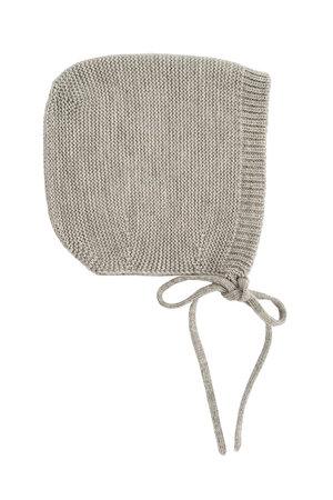 Hvid Bonnet Dolly - grey melange