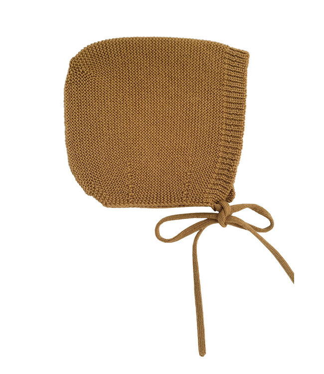 Bonnet Dolly - mustard