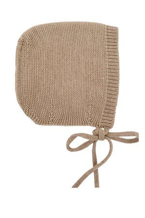 Hvid Bonnet Dolly - sand