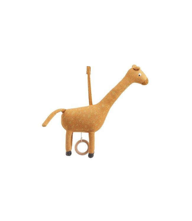 Angela muziek mobiel - giraffe mustard