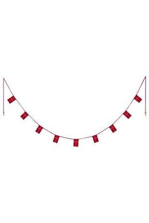 Maileg Danish flag garland, 9 flags