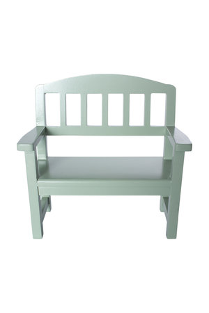 Maileg Wooden bench, green