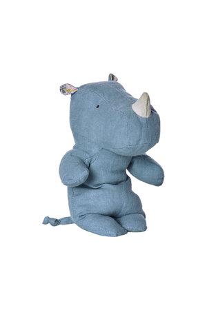 Maileg Safari friends, rhino blue, small