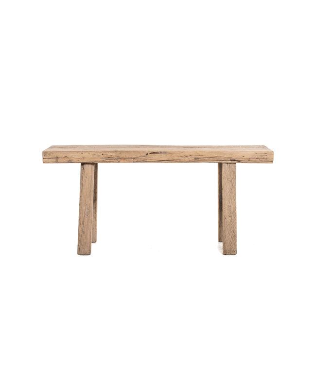 Short bench elm wood  #9 - 110cm
