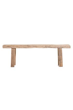Bench elm wood - 156cm