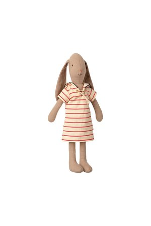 Maileg Bunny size 2, striped dress
