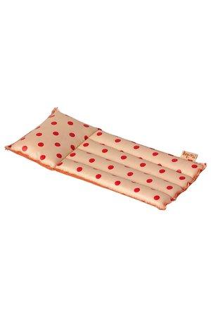 Maileg Air mattress, mouse - red dot