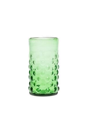Verre à bulle - vert