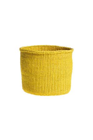 Couleur Locale Sisal basket Kenya - colorful, practical weave #231