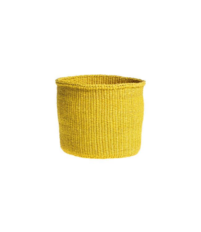 Sisal basket Kenya - colorful, practical weave #231