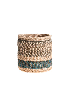 Couleur Locale Sisal basket Kenya - colorful, practical weave #232