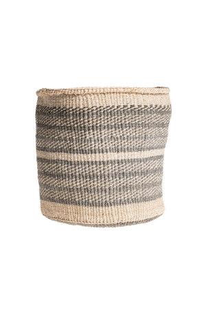 Couleur Locale Sisal basket Kenya - colorful, practical weave #244