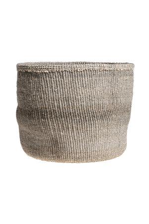 Couleur Locale Sisal basket Kenya - colorful, practical weave #243