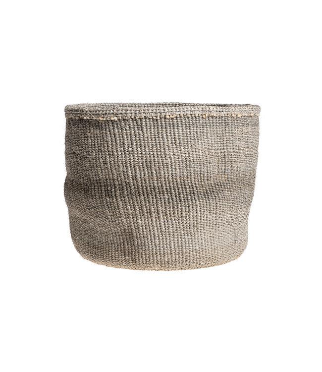 Couleur Locale Sisal mandje Kenia - kleurrijk, practical weave #243