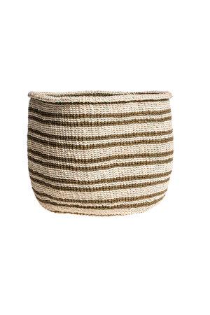 Couleur Locale Sisal basket Kenya - colorful, practical weave #242