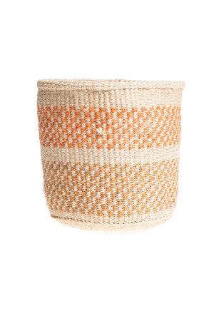 Couleur Locale Sisal basket Kenya - colorful, practical weave #241