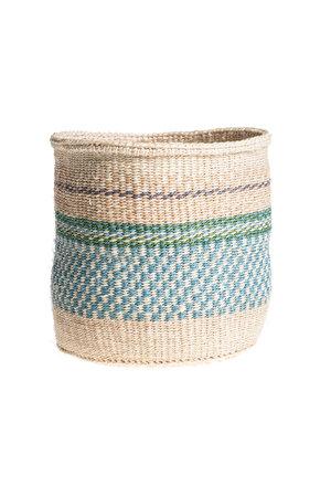 Couleur Locale Sisal basket Kenya - colorful, practical weave #238