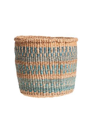 Couleur Locale Sisal basket Kenya - colorful, practical weave #237