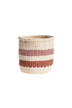 Couleur Locale Sisal basket Kenya - colorful, practical weave #235