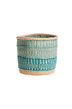 Couleur Locale Sisal basket Kenya - colorful, practical weave #234