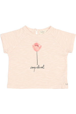 "Buho Baby ""coquelicot"" t-shirt - rose"