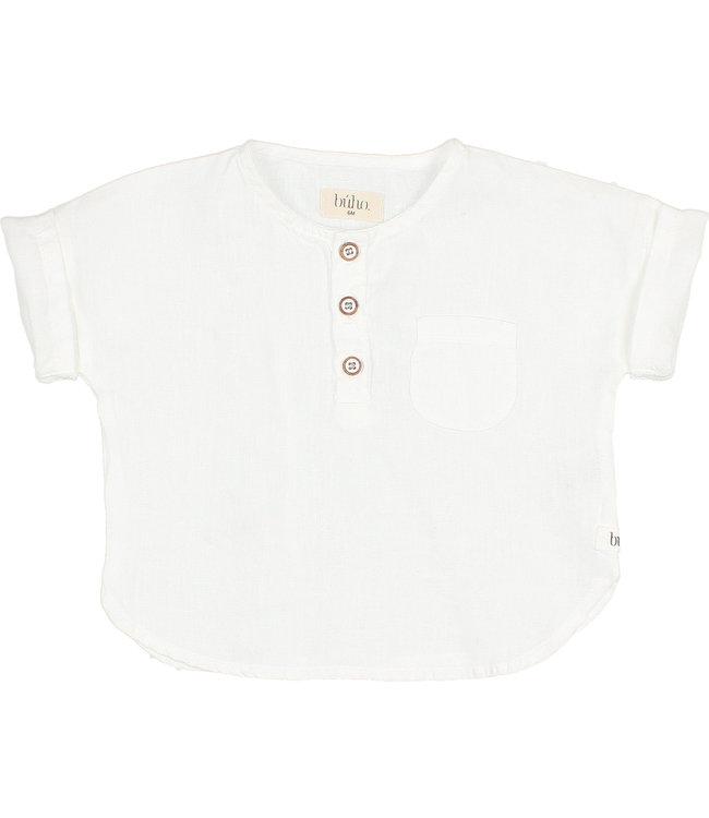 Buho Baby linen shirt - white