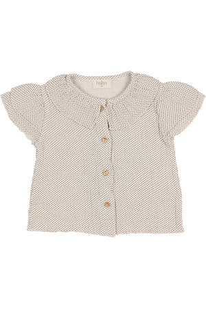 Buho Baby mini dots blouse - rose