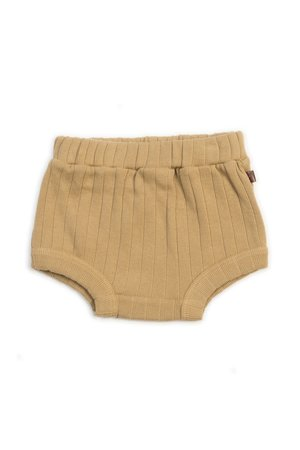 Kidwild Collective Organic rib bloomers - honey