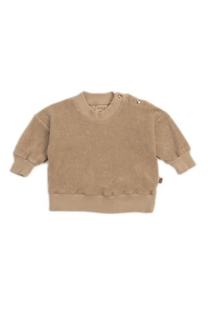 Kidwild Collective Organic terry sweatshirt - fawn