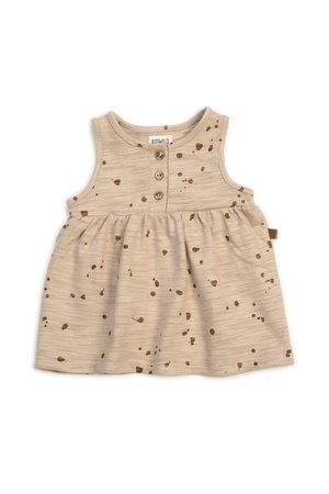 Kidwild Collective Organic tank dress - splatter AOP