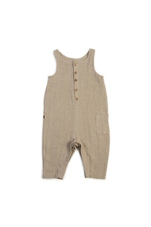 Kidwild Collective Organic jumpsuit - clay