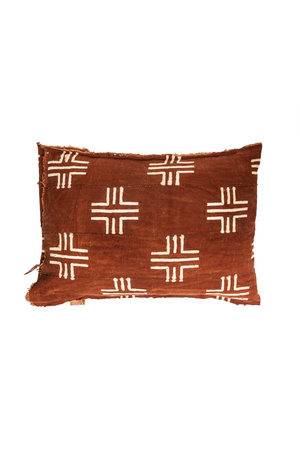 Cushion 'Out of Africa'  #17 - bogolan