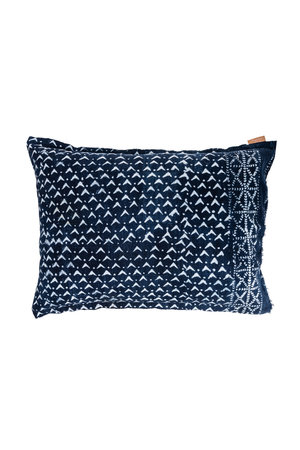 Cushion 'Out of Africa'  #18 - indigo