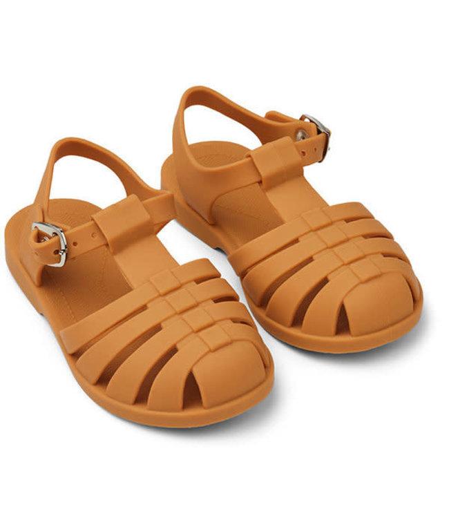 Bre sandaaltjes - mustard