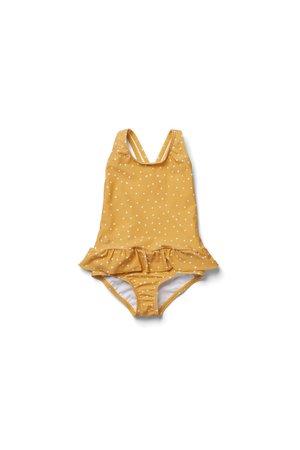 Liewood Amara swimsuit - confetti yellow mellow mix