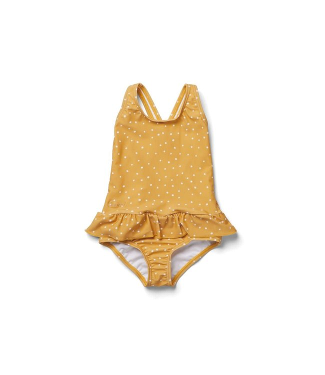 Liewood Amara swimsuit - confetti yellow mellow mix